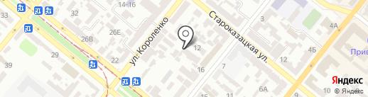 Инфинити на карте Днепропетровска