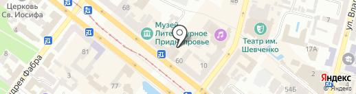 LarEna на карте Днепропетровска