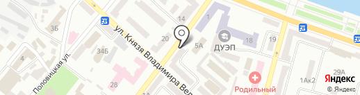 Нотариус Никитюк Г.Н. на карте Днепропетровска