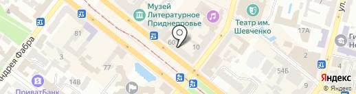 Aura fashion house на карте Днепропетровска