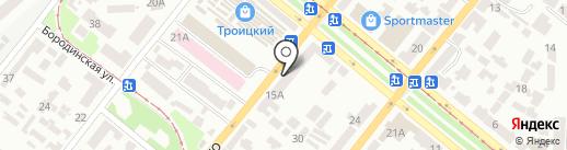 Мир красоты на карте Днепропетровска