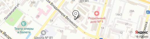 Oriflame на карте Днепропетровска
