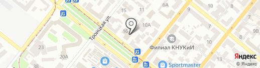 С легким паром! на карте Днепропетровска