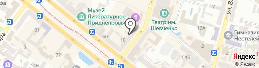 Newcom на карте Днепропетровска