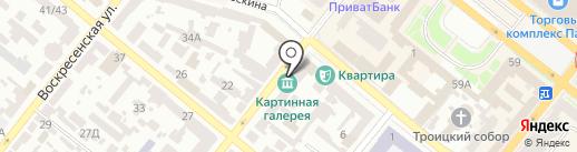 ТЕЛЕГА на карте Днепропетровска