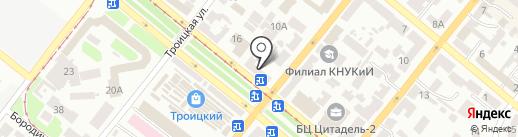 Эдем на карте Днепропетровска