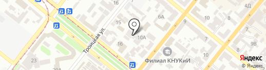 Укркурьер на карте Днепропетровска