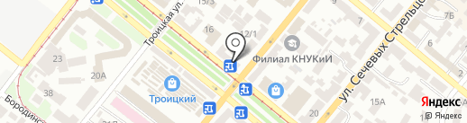 Студия флористики Оксаны Остапюк на карте Днепропетровска