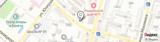 Рейд на карте Днепропетровска
