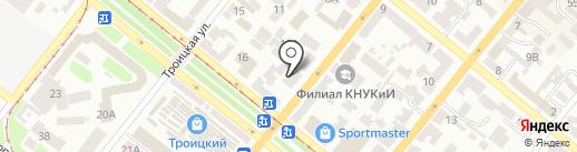 Владислав на карте Днепропетровска