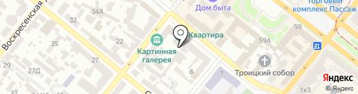 Думка на карте Днепропетровска