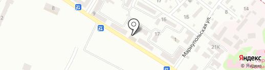Теремок на карте Днепропетровска