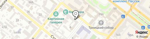 Мой личный адвокат на карте Днепропетровска