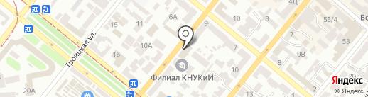 Гидромакс на карте Днепропетровска
