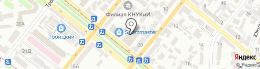 Estate Invest на карте Днепропетровска