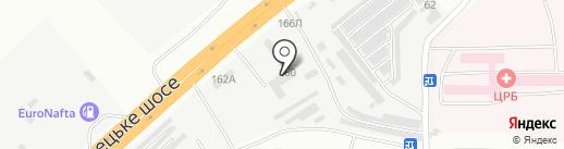 Ремс на карте Днепропетровска