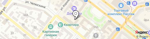 Банкомат, ВСЕУКРАЇНСЬКИЙ БАНК РОЗВИТКУ на карте Днепропетровска