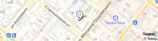 Спутник-Авто на карте Днепропетровска