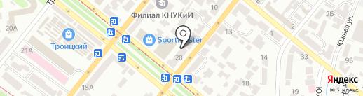ПРАВЭКС-БАНК на карте Днепропетровска