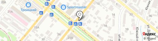 Академия парикмахерского искусства Людмилы Абрамовой на карте Днепропетровска