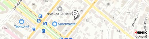 Маджента Украина на карте Днепропетровска