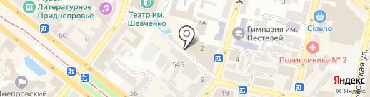 Сушкі на карте Днепропетровска