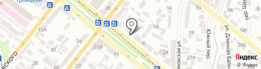 Приват-Адвокат на карте Днепропетровска