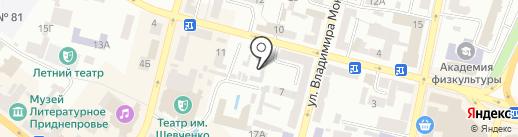 ТД Тиско Украина на карте Днепропетровска