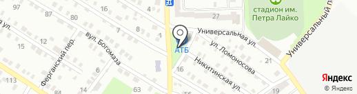 Шалунишка на карте Днепропетровска