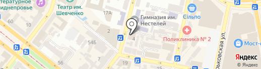 DEVORE на карте Днепропетровска