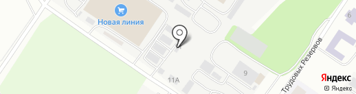 Союз-Реагент на карте Днепропетровска
