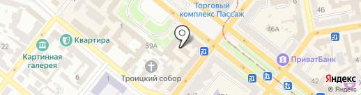 Добрий Зір на карте Днепропетровска
