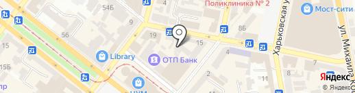 ИГРАД на карте Днепропетровска