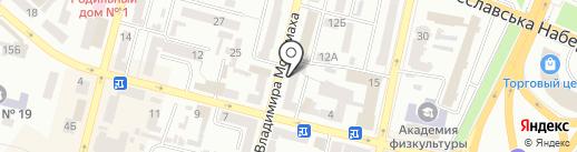 АЛЬФА СТРАХУВАННЯ, ПрАТ на карте Днепропетровска