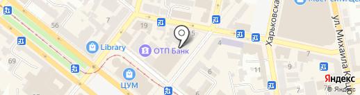 ЦИТРУС на карте Днепропетровска