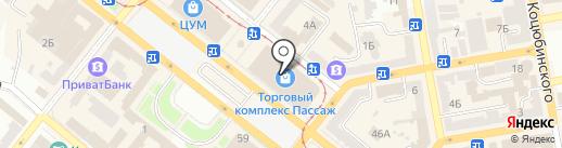 Luciano Carvari на карте Днепропетровска