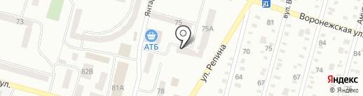 Дільничний пункт міліції на карте Днепропетровска