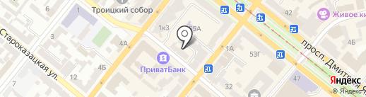 ЭНДОРФИН на карте Днепропетровска