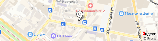 Нотариус Долгополова Л.Г. на карте Днепропетровска
