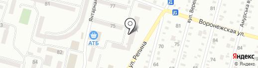 Індустріальний районний відділ у м. Дніпропетровську ГУДМС України в Дніпропетровській області на карте Днепропетровска