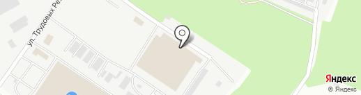 Днепропетровск-Авто, ПАО на карте Днепропетровска