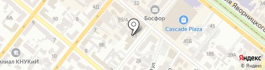 ENIGMA на карте Днепропетровска