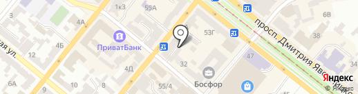 Банкомат, ВТБ Банк на карте Днепропетровска