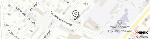 Искорка на карте Днепропетровска