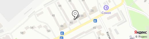 М`ясолюб на карте Днепропетровска
