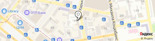 Jeans Club на карте Днепропетровска