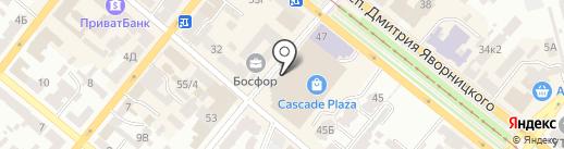 The Loft Gastropub на карте Днепропетровска