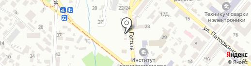 Eurogold на карте Днепропетровска