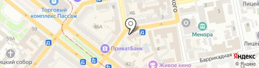CROCUS на карте Днепропетровска