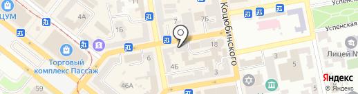 Банька на Ширшова на карте Днепропетровска